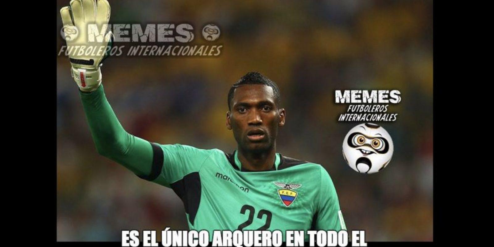 Ecuador perdió 3-1 ante Colombia. Foto:Vía facebook.com/Memes-Futboleros-Internacionales-785576564852677