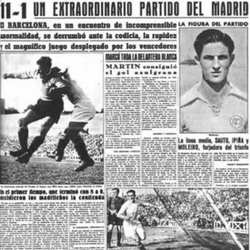 Los Merengues se impusieron 11-1 con goles de Barinaga (4), Pruden (3), Alonso (2), Botella y Alsúa. Martín descontó para el Barça ya con el 11-0 en el marcador. Foto:Marca.com