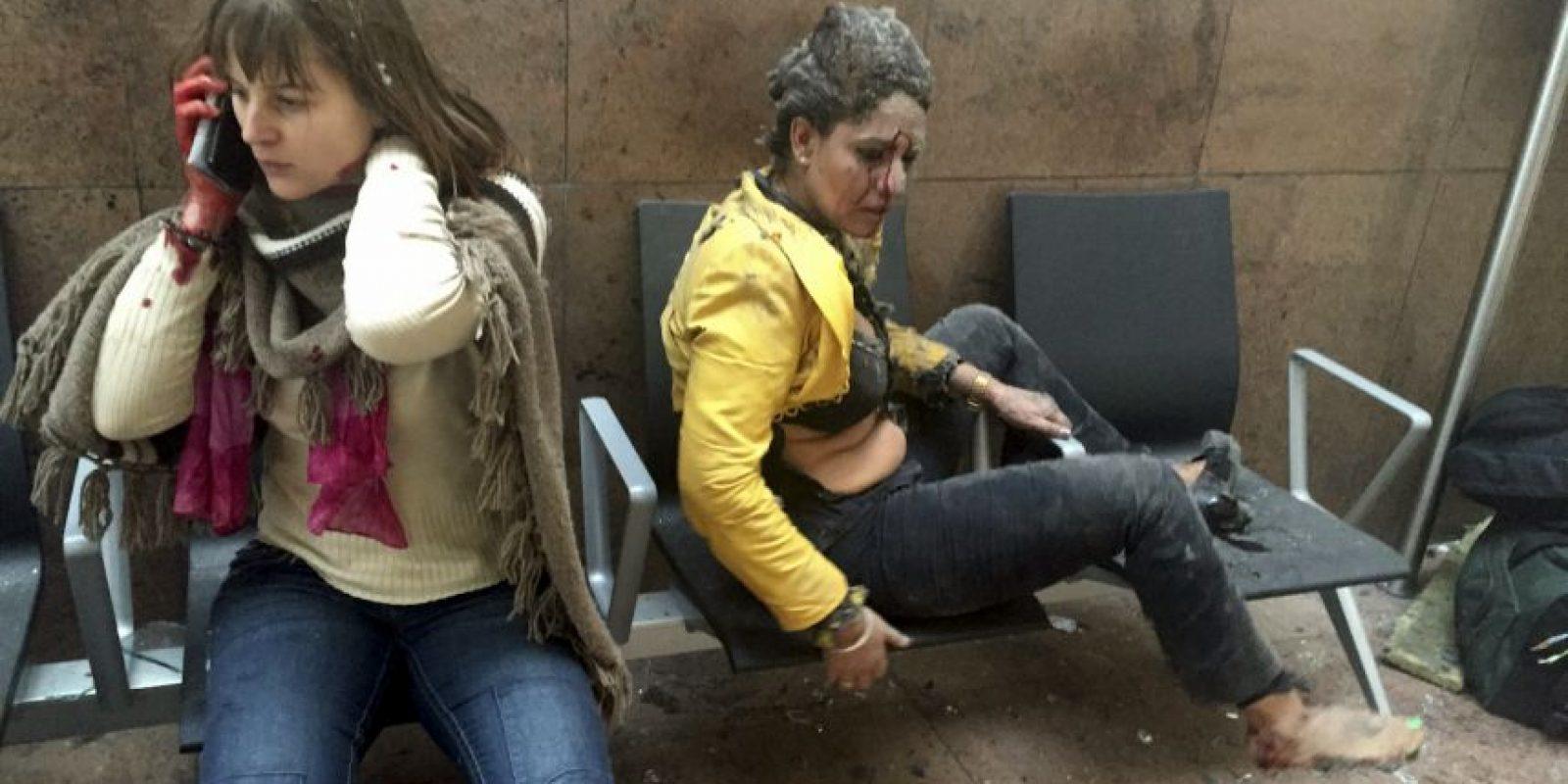 El 22 de marzo una serie de explosiones se vivieron en el Aeropuerto Bruselas- Zaventem y la estación del metro de Maalbeek. Foto:AP