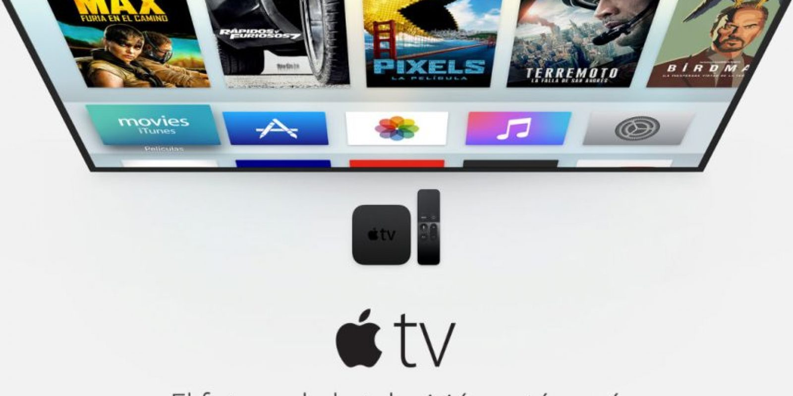 Apple ya había tratado de incursionar en el mundo de la televisión con Apple TV. Foto: Apple