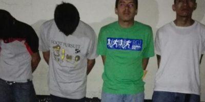 Los ven en cámara de vigilancia tras cometer crimen y PNC los captura