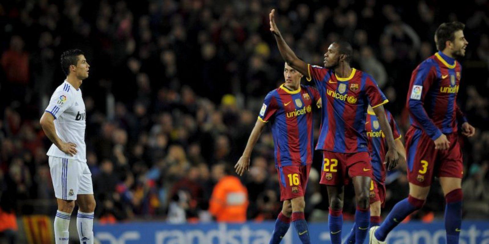 Del lado culé, la mejor racha es de 5 triunfos seguidos de la temporada 2009/2010 a la 2010/2011. Foto:Getty Images