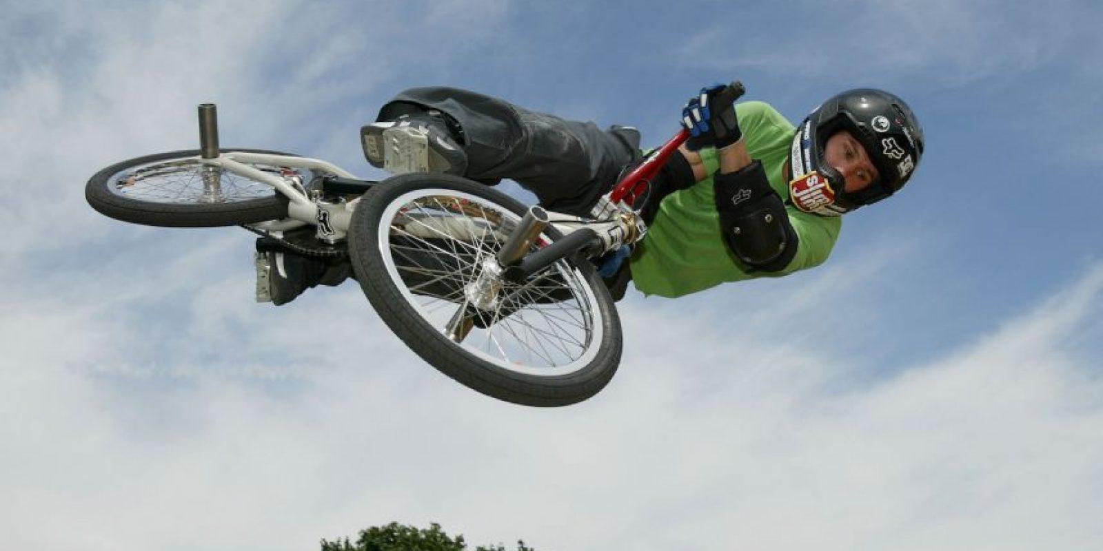 La leyenda del BMX fue encontrado muerto en su camioneta el pasado 6 de febrero con una herida de bala, que aparentemente se hizo él mismo. Foto:Getty Images