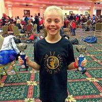 Tiene 117 títulos de campeonatos de artes marciales. Foto:vía Facebook/ JJ Golden Dragon