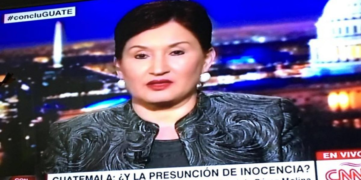 Thelma Aldana en CNN: