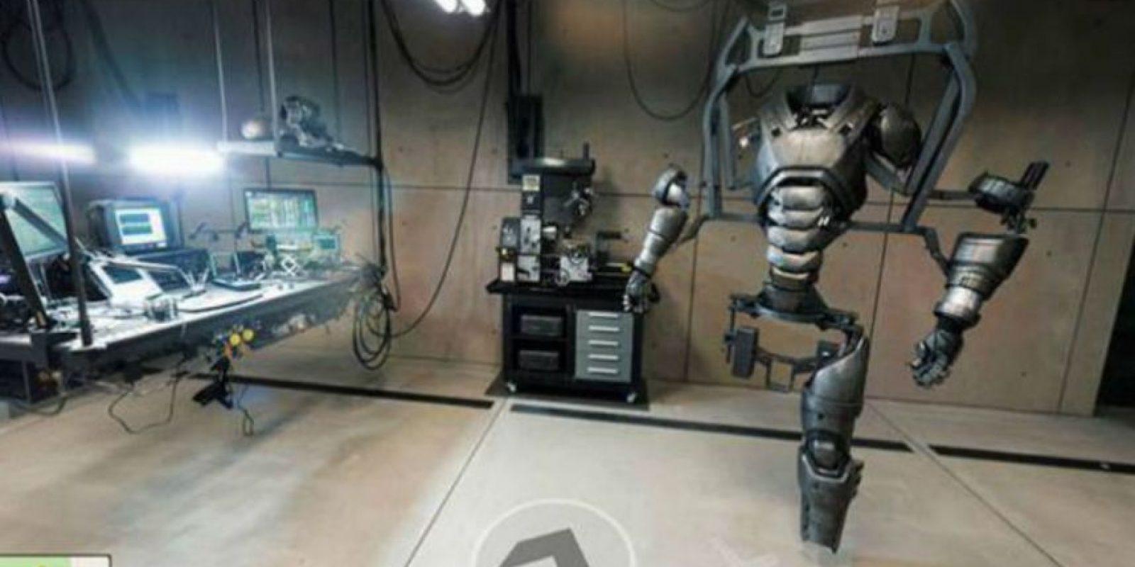 En la guarida del superhéroe se encuentran todos los gadgets que usa para combatir el mal. Foto:Google Maps