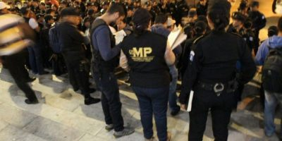 Realizan #OperaciónOmega en busca de extorsionistas