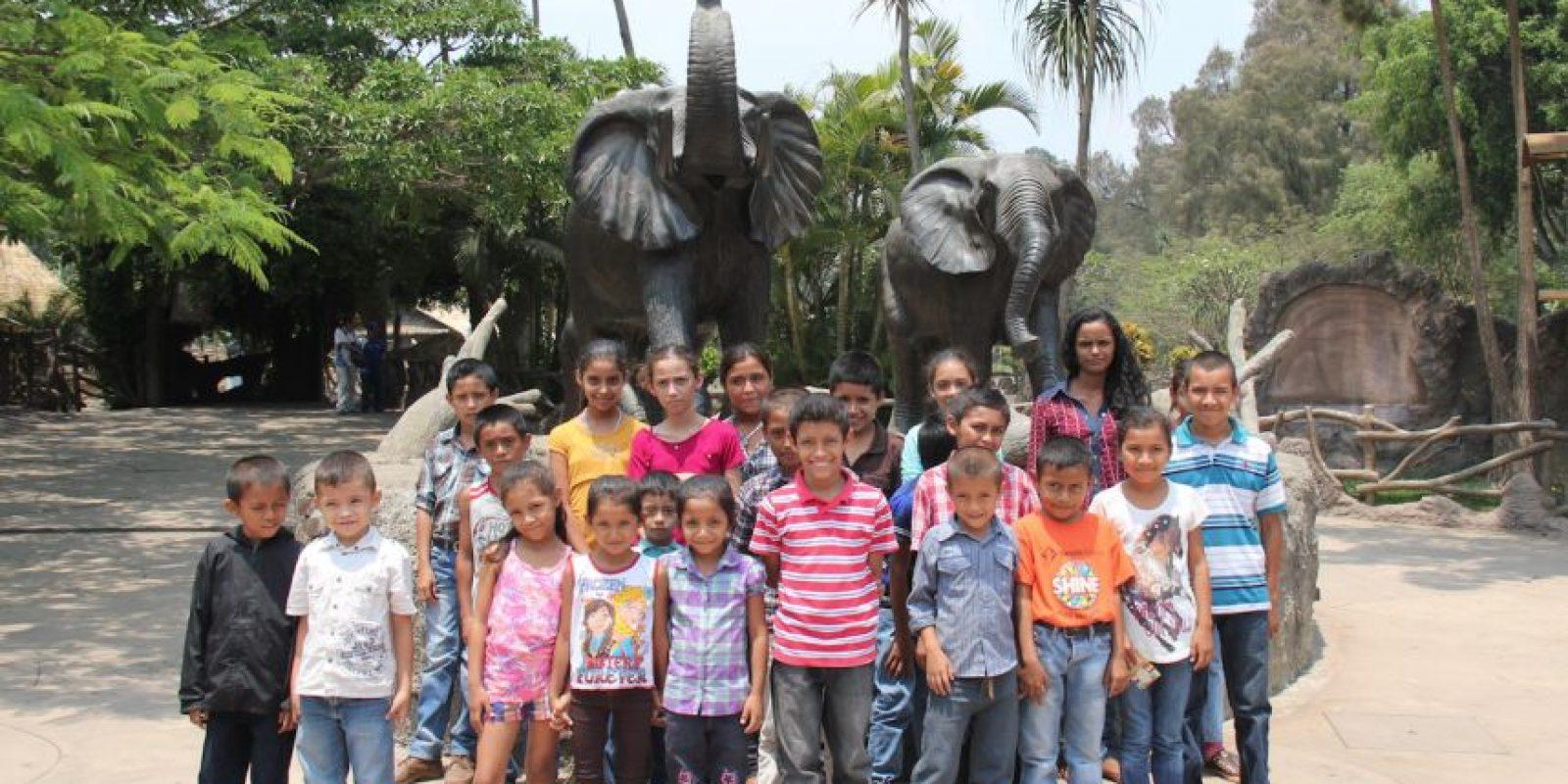 La visita al Zoológico. Foto:Mineduc