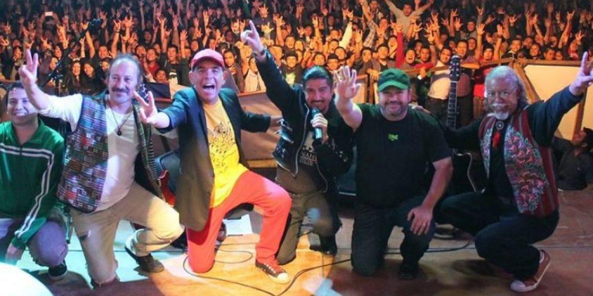 Alux Nahual realizó concierto en Chiantla el Sábado Santo