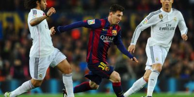 """Con Messi, Suárez y Neymar como referentes culés y Benzema, Bale y Cristiano como símbolos """"merengues"""" es imposible pensar que el marcador no se moverá Foto:Getty Images"""