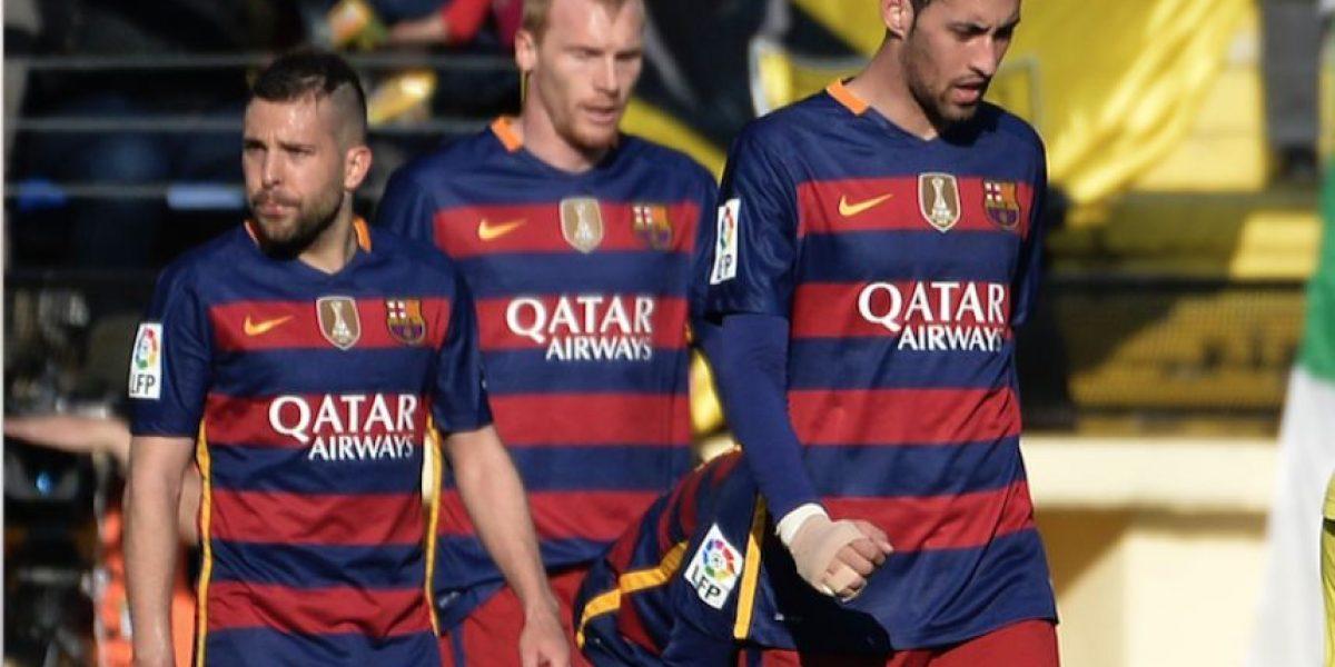 Jeremy Mathieu del Barcelona será baja entre seis y ocho semanas por lesión