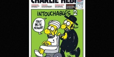 Y de comunidades, como la judía Foto:Charlie Hebdo