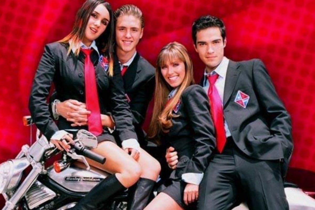 """De la telenovela """"Rebelde"""" Foto:Televisa"""