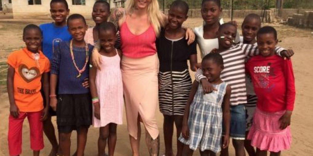 """Así se recuperó el """"niño brujo"""" abandonado en Nigeria"""