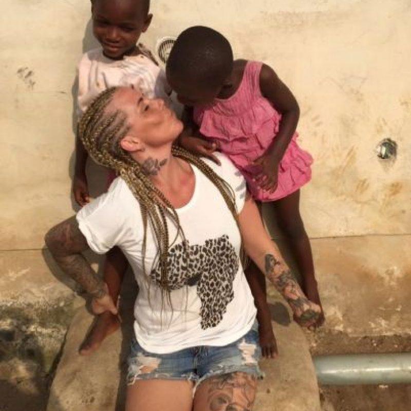 En la ONG los niños reciben tratamiento médico, comida, alojamiento y educación. Foto:facebook.com/anja.loven/