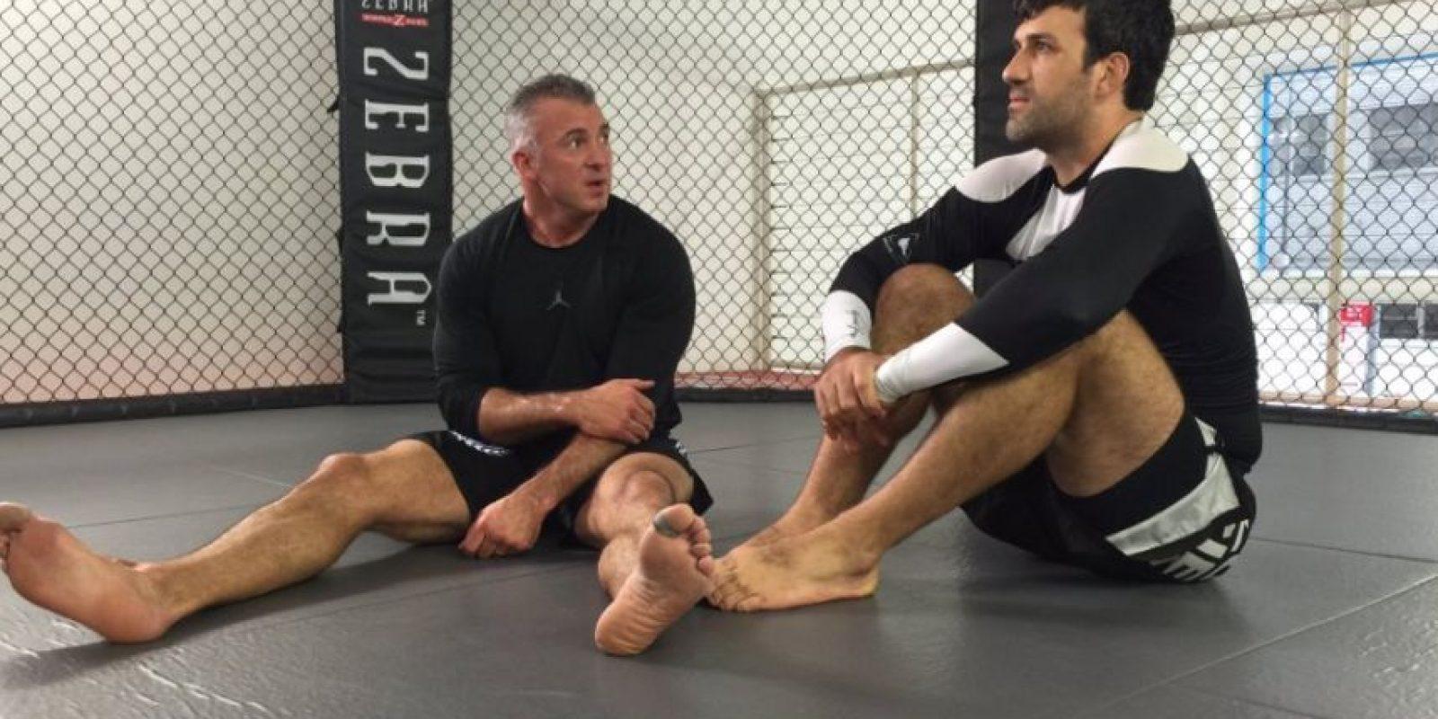 Shane se ha puesto en forma con entrenamientos de Muay Thai y artes marciales mixtas Foto:WWE