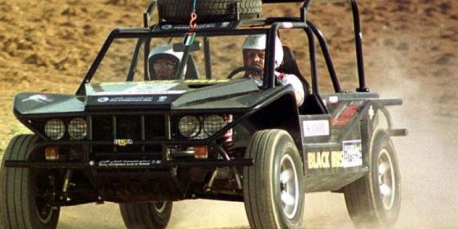 El rey Abdalá II de Jordania ama el automovilismo Foto:Getty Images