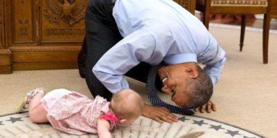 Estas imágenes fueron captadas por el fotógrafo oficial de la Casa Blanca, Pete Souza. Foto: Vía whitehouse.gov/photos