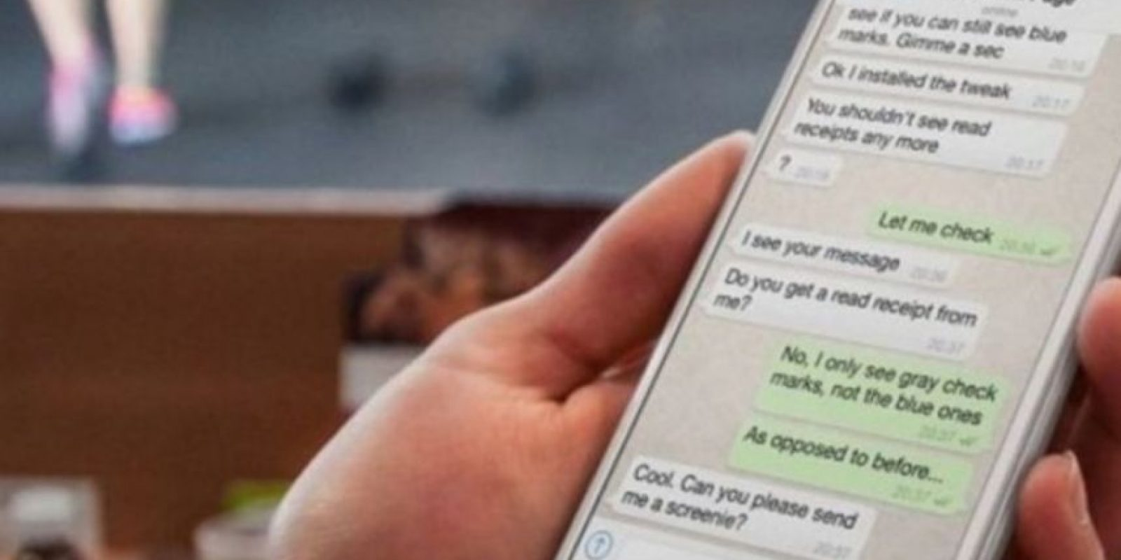 La nueva actualización de WhatsApp también permite escribir en negritas, cursiva y tachar texto. Foto:Tumblr