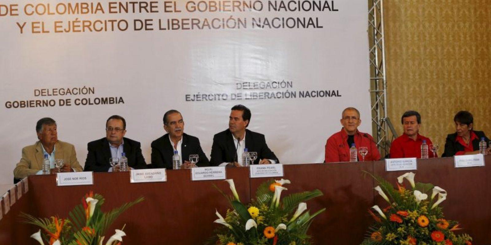Colombia inicia el camino hacia la paz con grupo guerrillero del país. Foto:AP