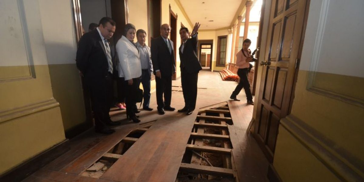 Diputada de Marruecos ofrece apoyo para la reconstrucción de la Casa Larrazábal