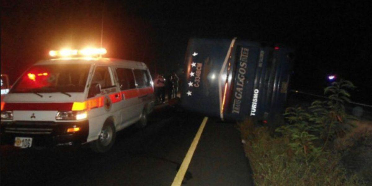 Dos autobuses más se accidentaron este viernes y causaron varios heridos
