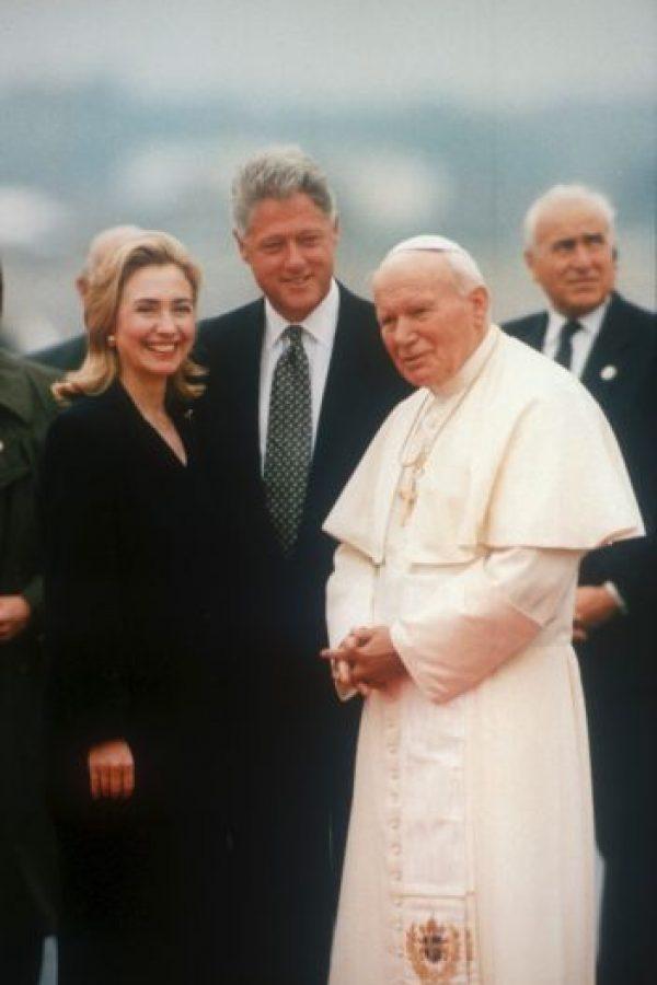 1995. Se atrevió a probar algo más largo. Foto:Getty Images