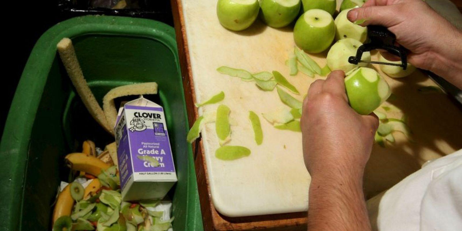 Un tercio de los alimentos producidos para el consumo humano se pierde o se desperdicia en todo el mundo Foto:Getty Images