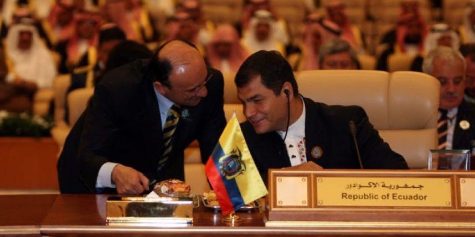 Rafael Correa, presidente de Ecuador, es aficionado al senderismo Foto:Getty Images