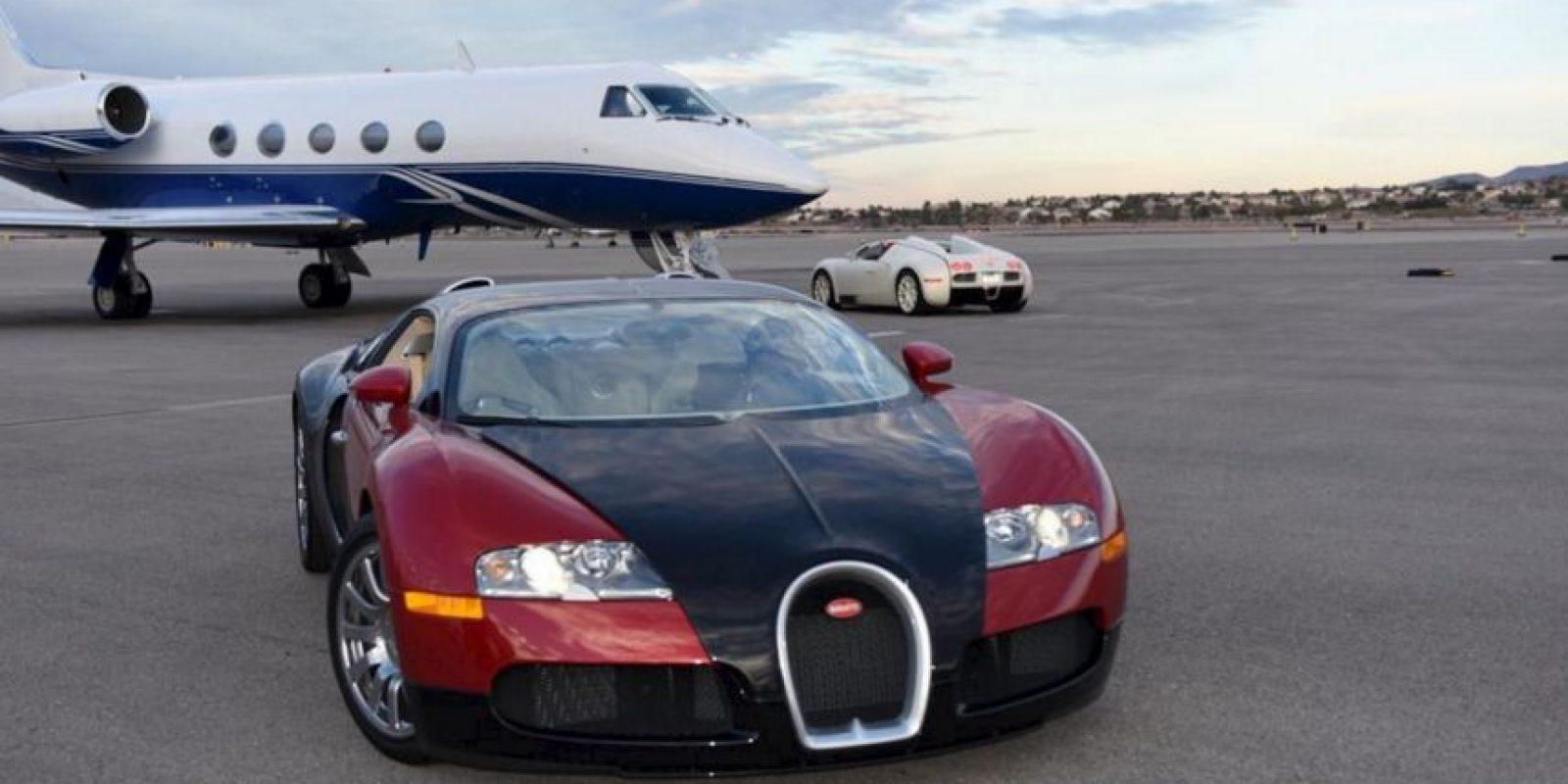 """Este recibió el nombre de """"AirMayweather"""". Foto:Vía instagram.com/floydmayweather"""