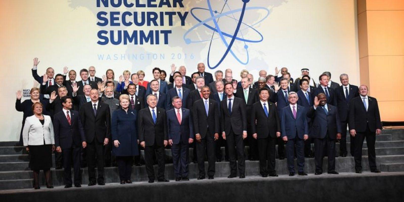 IV Cumbre de Seguridad Nuclear Foto:nss2016.org