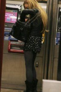 Lindsay Lohan Foto:Vía celebritiesonthesubway.tumblr.com
