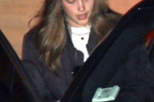 Ella subió a su auto Foto:Grosby Group