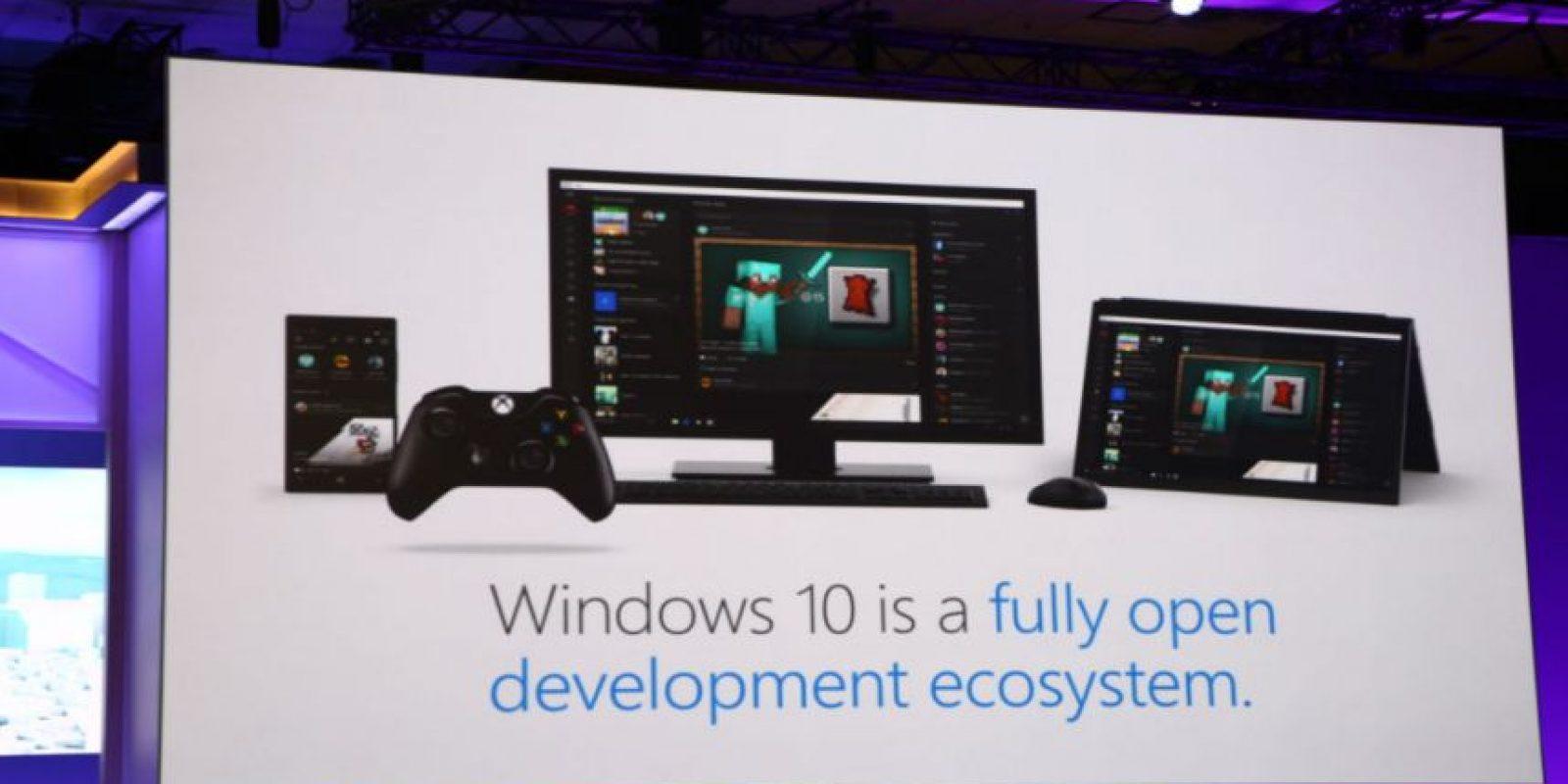 Windows 10 será ahora un ecosistema que englobará móviles, tabletas y Xbox 10. Foto:Tumblr
