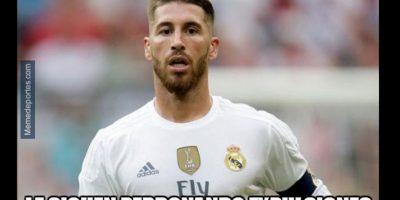 Tampoco a Ramos. Foto:memedeportes.com