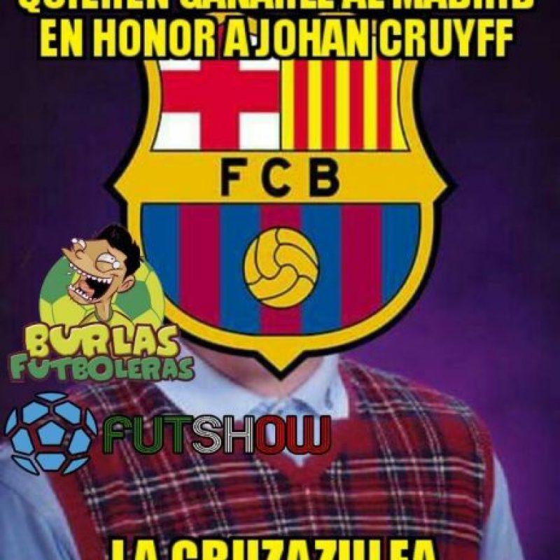 Ni modos, Barça. Foto:facebook.com