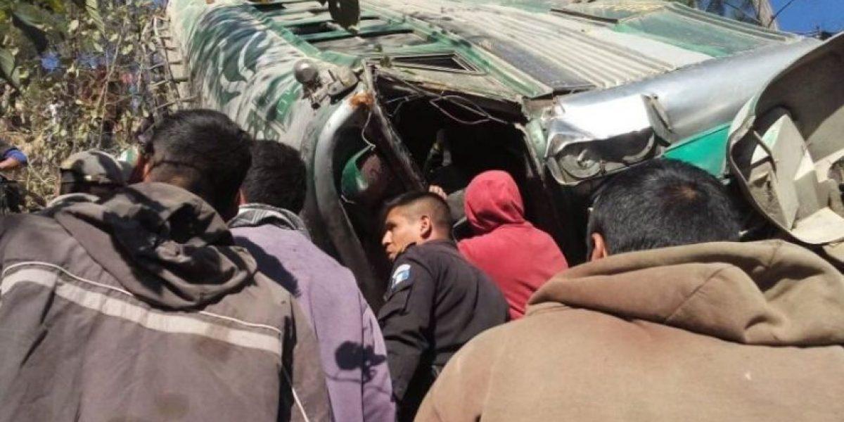 Una semana fatal: Accidentes de autobuses causó numerosas muertes y heridos