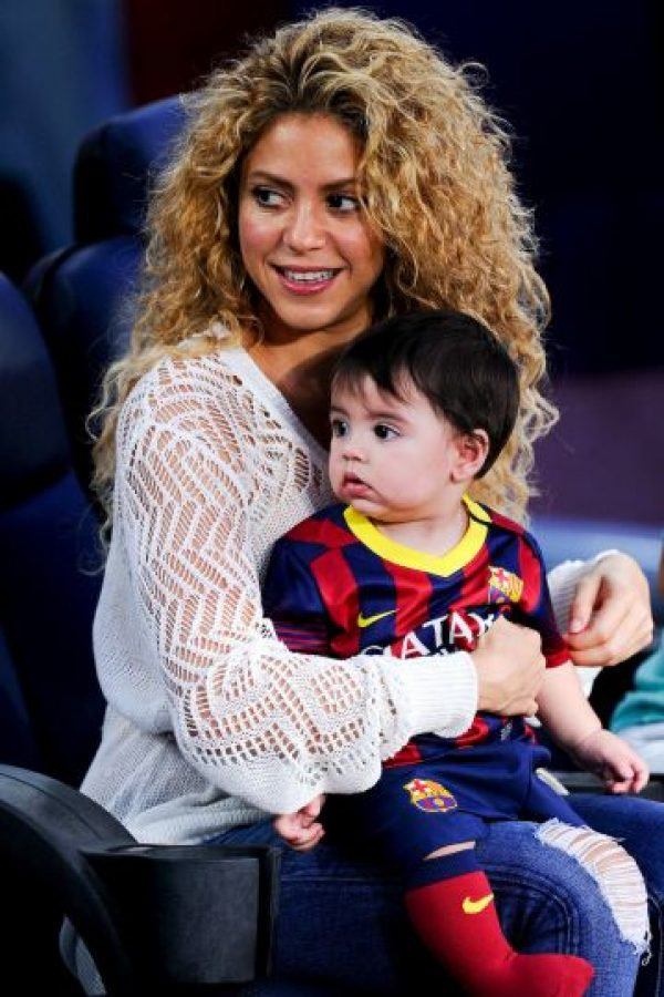 2. Shakira Foto: Getty Images