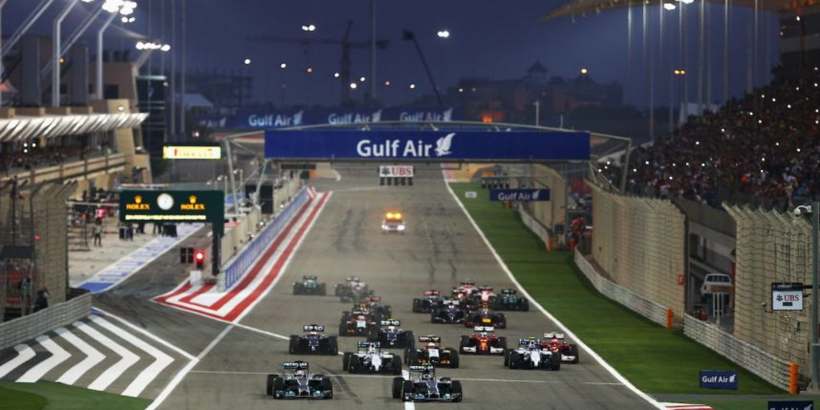 Gran Premio de Bahrein Foto: Getty Images