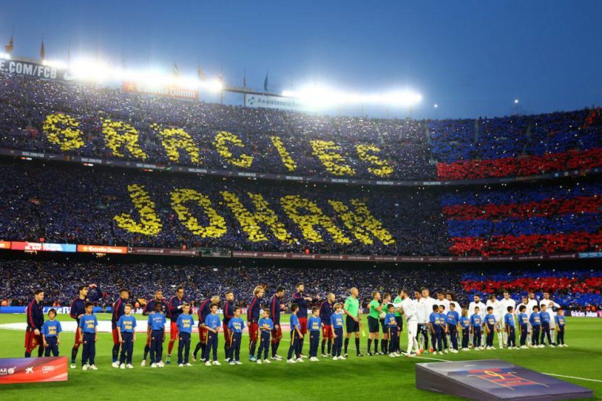 Johan Cruyff ganó una liga y una Copa del Rey como jugador del Barcelona Foto:Getty Images