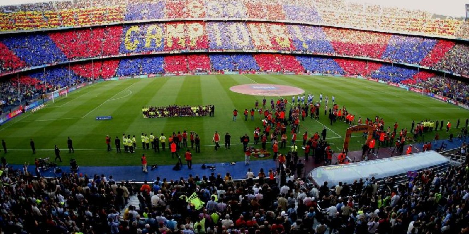El Camp Nou será la sede de esta edición del Clásico de España. Foto:Getty Images