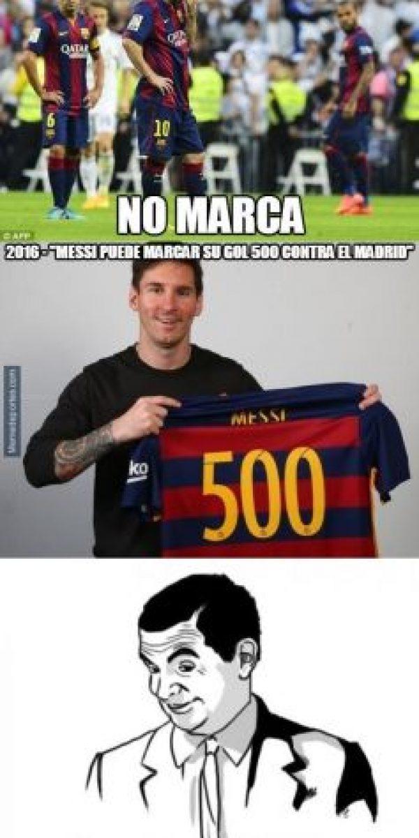 Y también Leo Messi. Foto:memedeportes.com