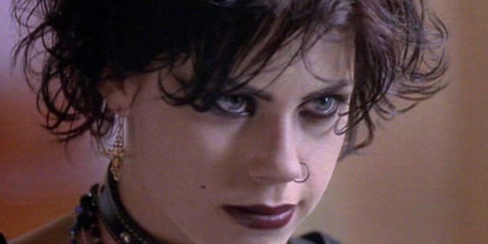 Sobre todo por sus joyas y maquillaje. Foto:vía Columbia Pictures
