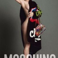 Lo hizo para Moschino. Foto:vía Instagram