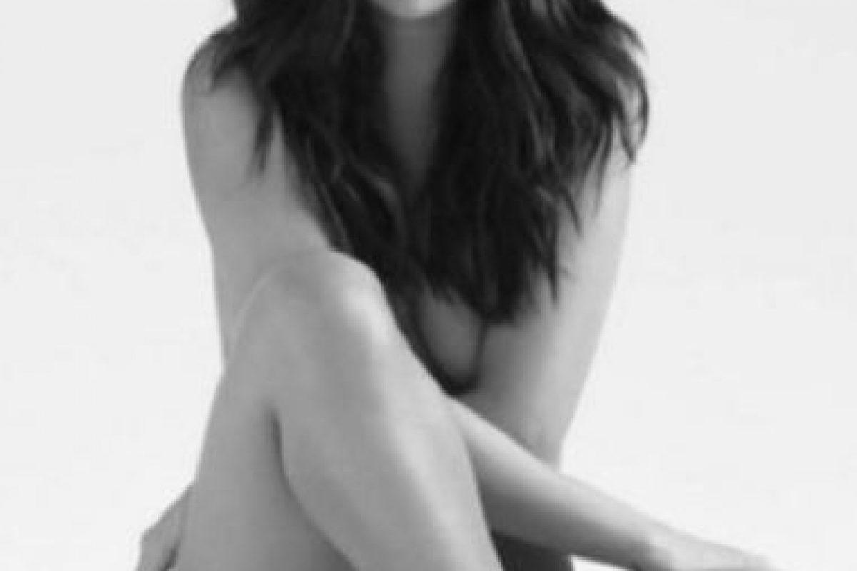 Sorprendió con este desnudo. Foto:vía Instagram