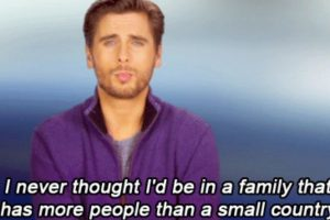 """""""Nunca pensé que estaría en una familia más grande que un país pequeño"""". Foto:vía E!"""