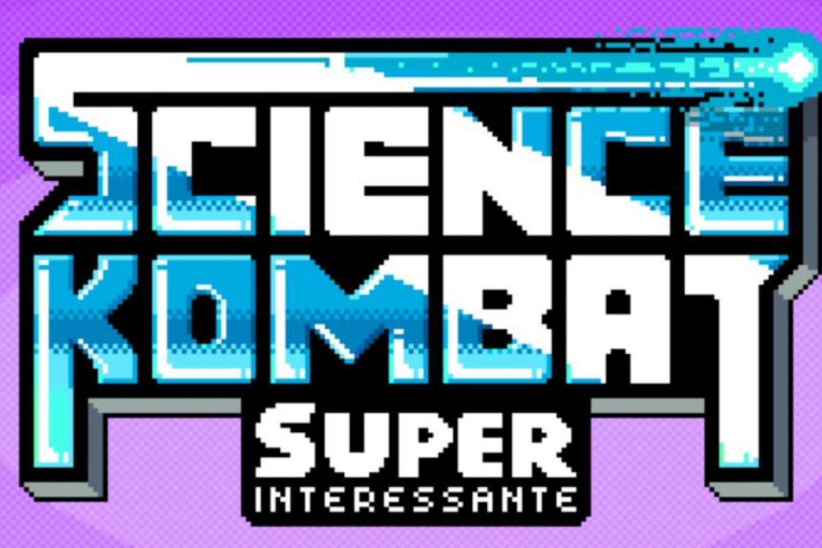 """Science Kombat es un juego al estilo de """"Mortal Kombat"""" o """"King Of Fighters"""". Foto:http://super.abril.com.br/"""