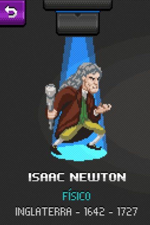 Isaac Newton: Sus aportes más importantes son la ley de la gravitación universal, y las leyes de Newton que son la base de la mecánica clásica. Foto:http://super.abril.com.br/
