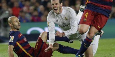 Las mejores imágenes del primer tiempo entre Barcelona y Real Madrid Foto:AP