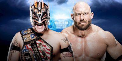 Kick-Off: Campeonato de los Estados Unidos: Kalisto vs. Ryback Foto:WWE